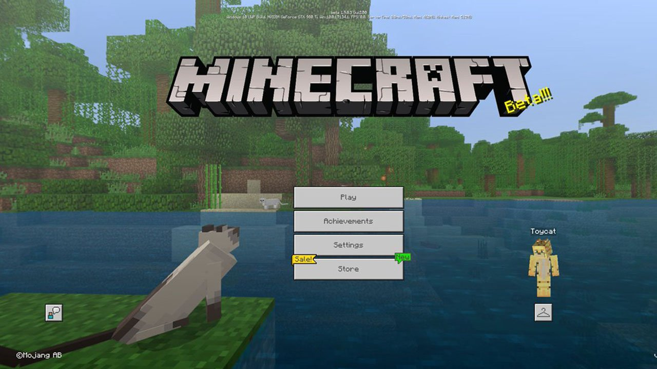 Minecraft Trial poster