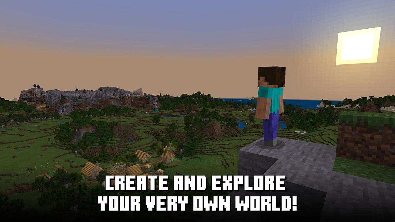Minecraft Trial screen 1