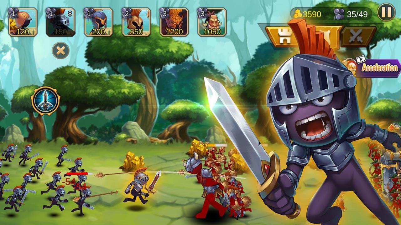 Stickman War 2 Odyssey screen 0