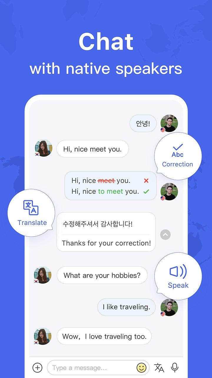 HelloTalk screen 0