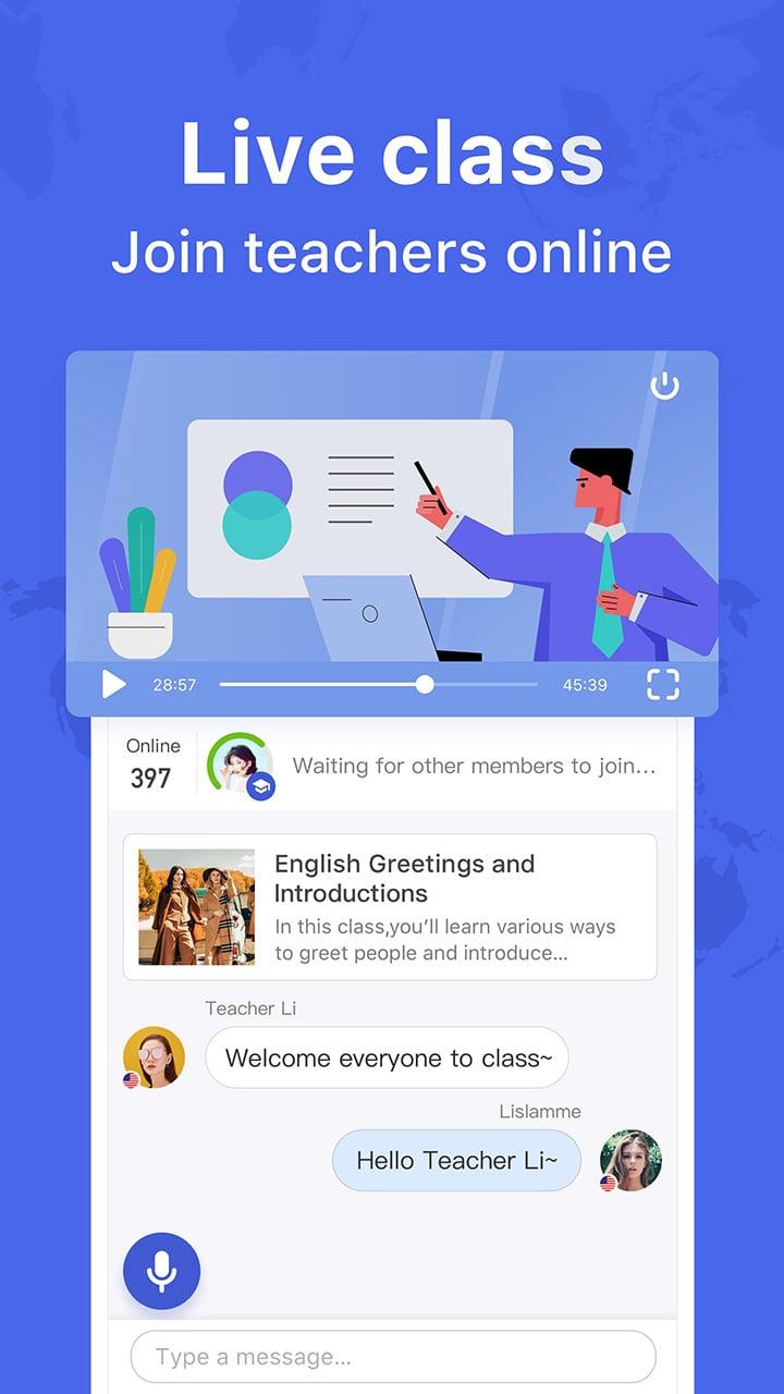 HelloTalk screen 3