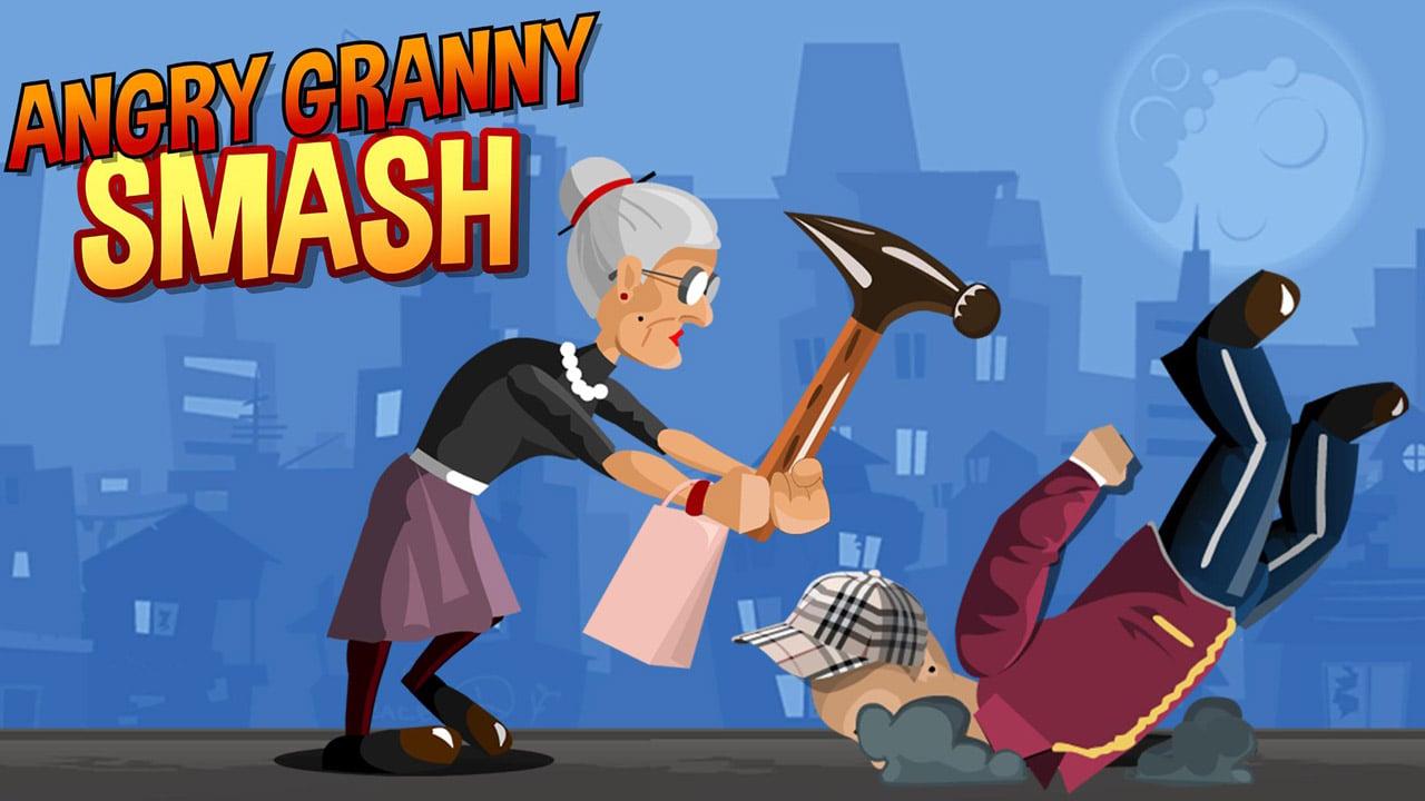 Angry Granny Smash poster