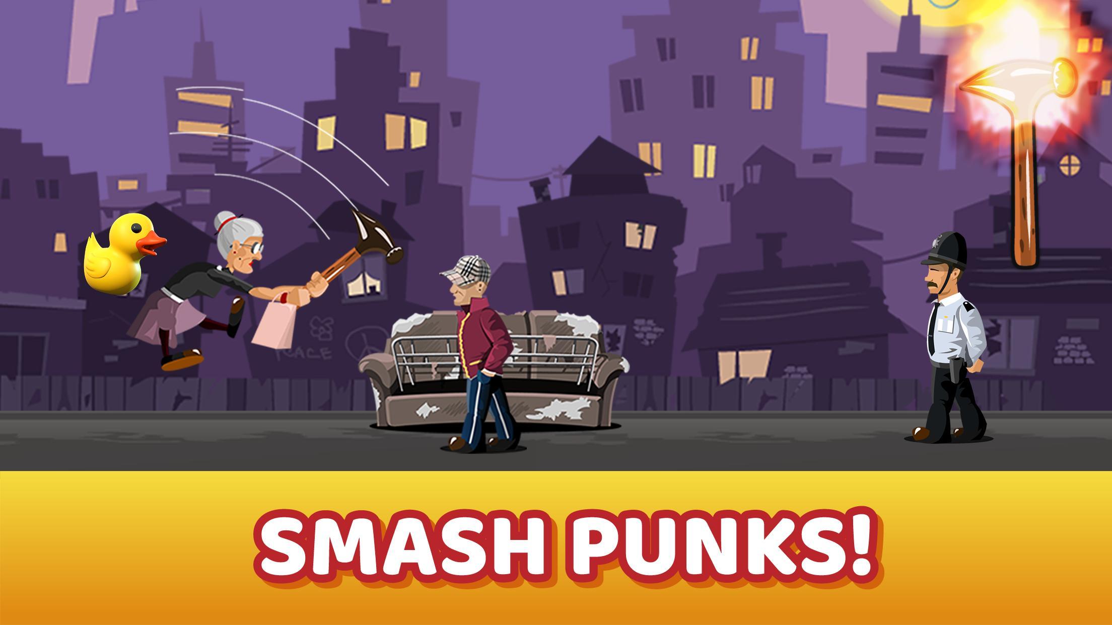 Angry Granny Smash screen 1
