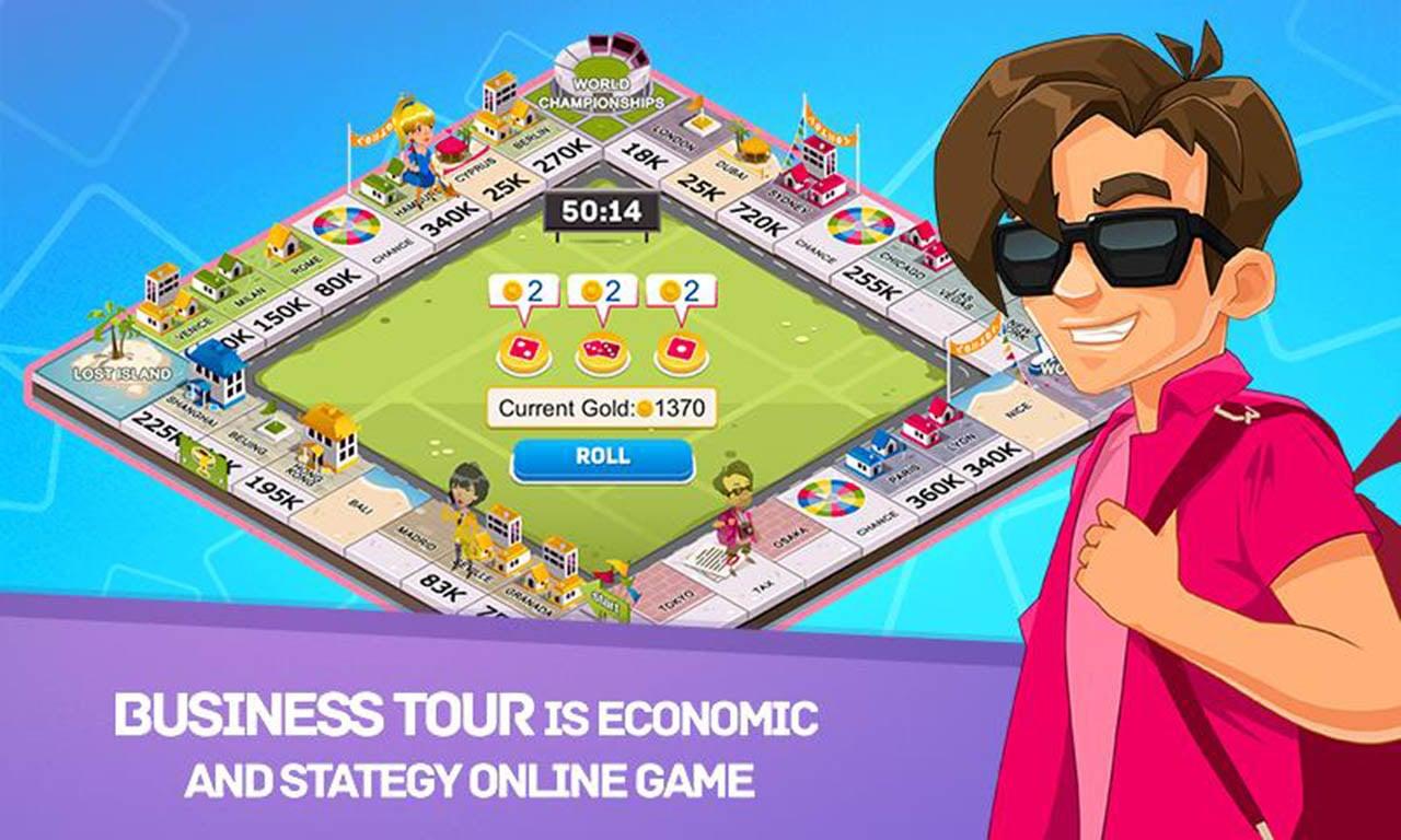 Business Tour screen 0