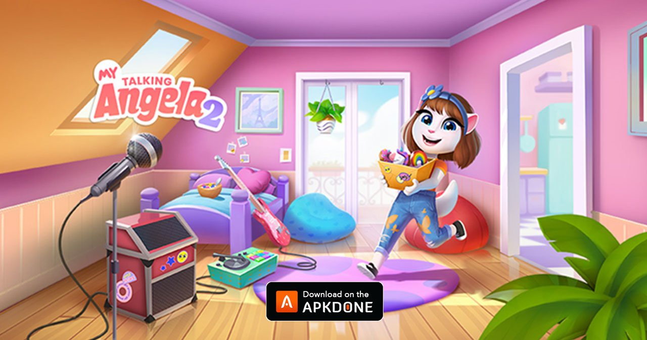 My Talking Angela 2 - The Next Step In A Famous Felines