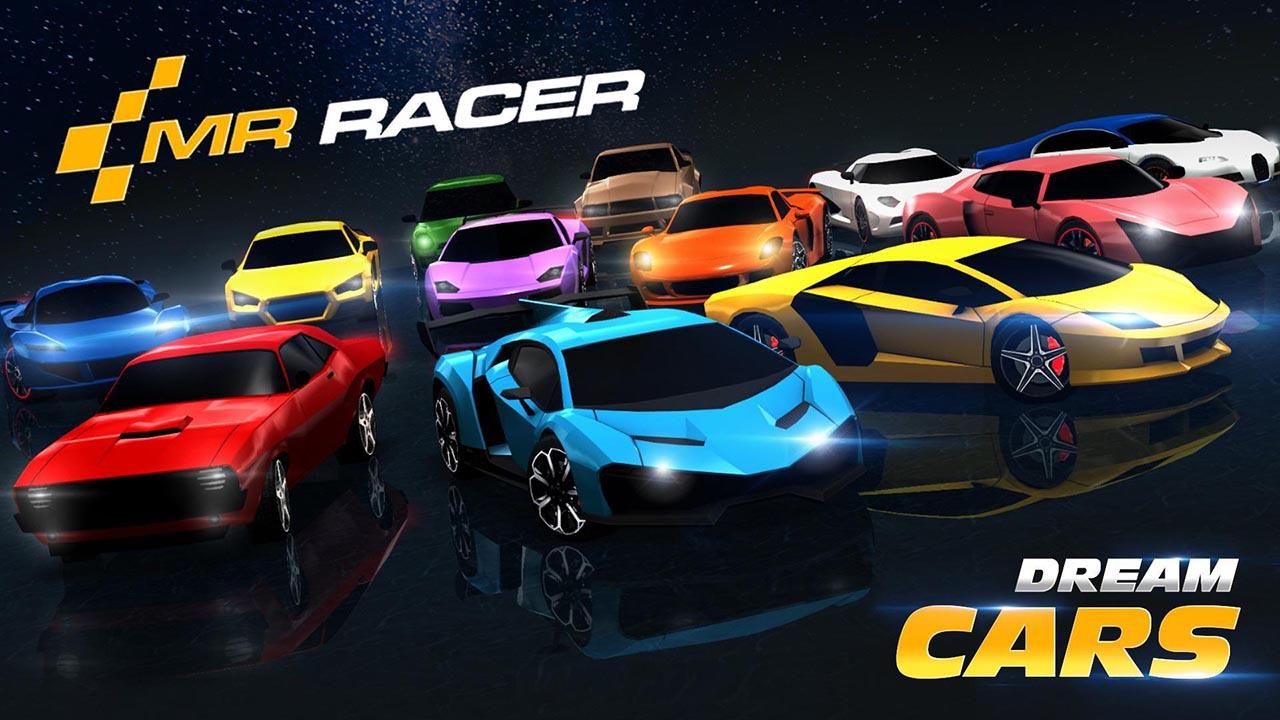 MR RACER poster
