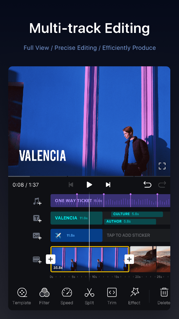 VN Video Editor image 1