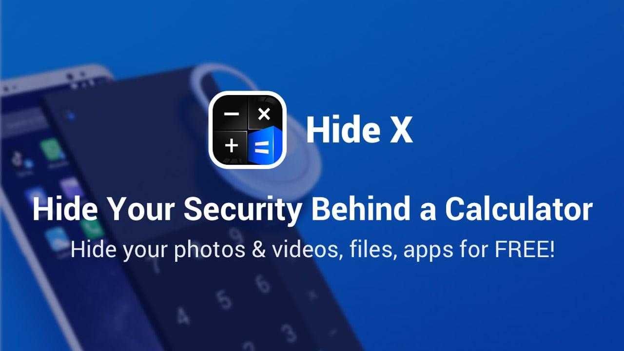 HideX poster
