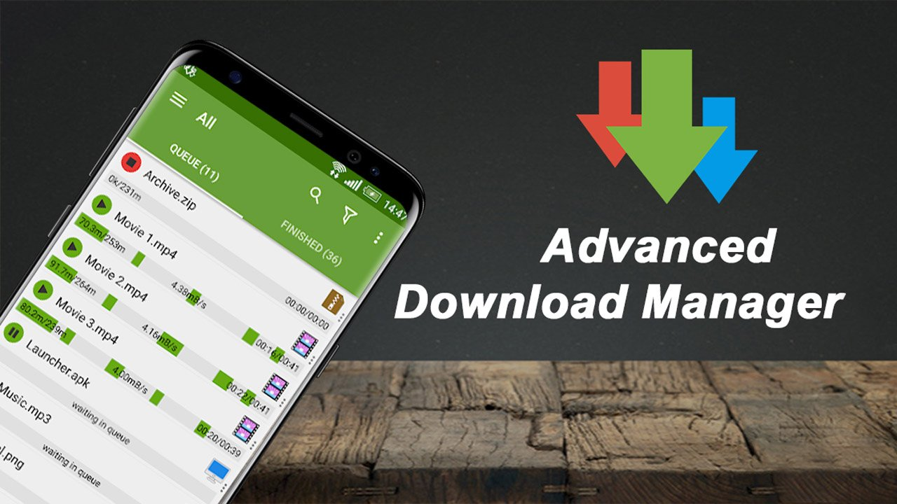 Advanced Download Manager poster