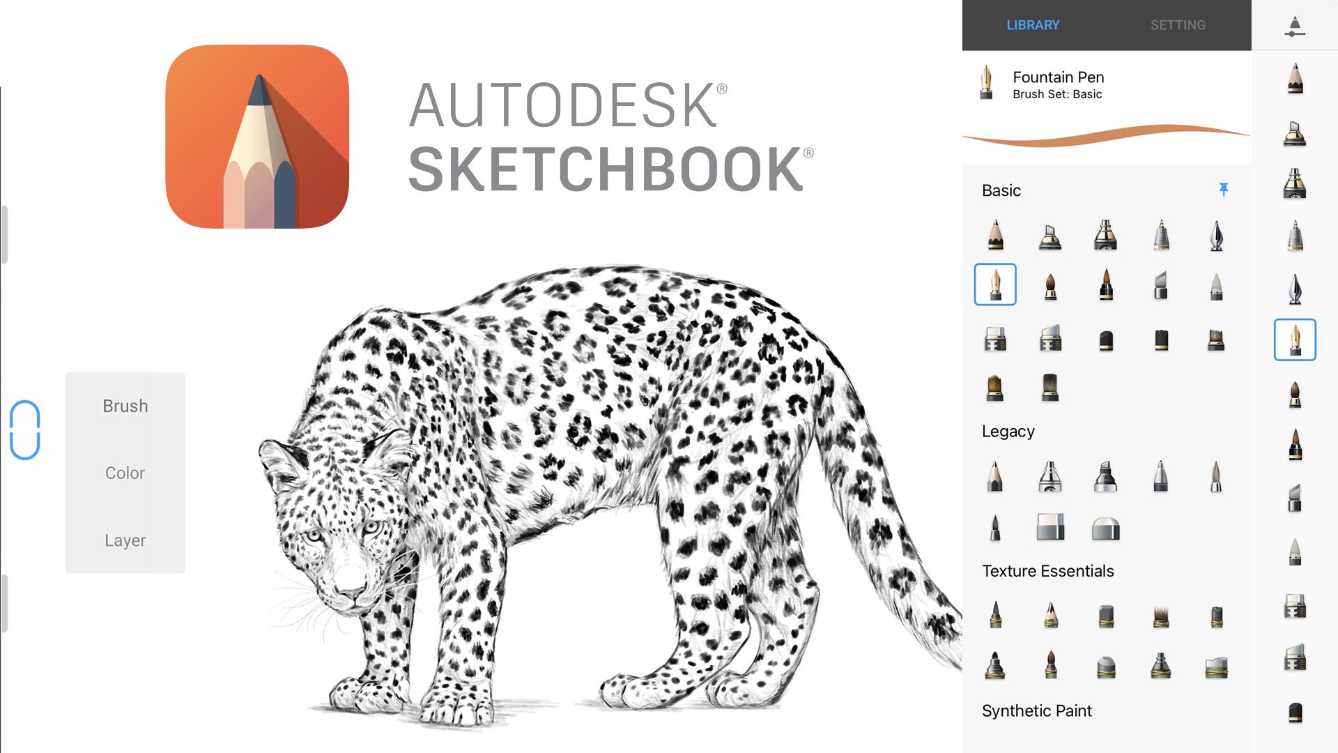 Autodesk SketchBook app banner