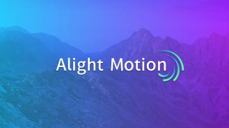 Alight Motion MOD APK 3.9.0 (Pro Unlocked)