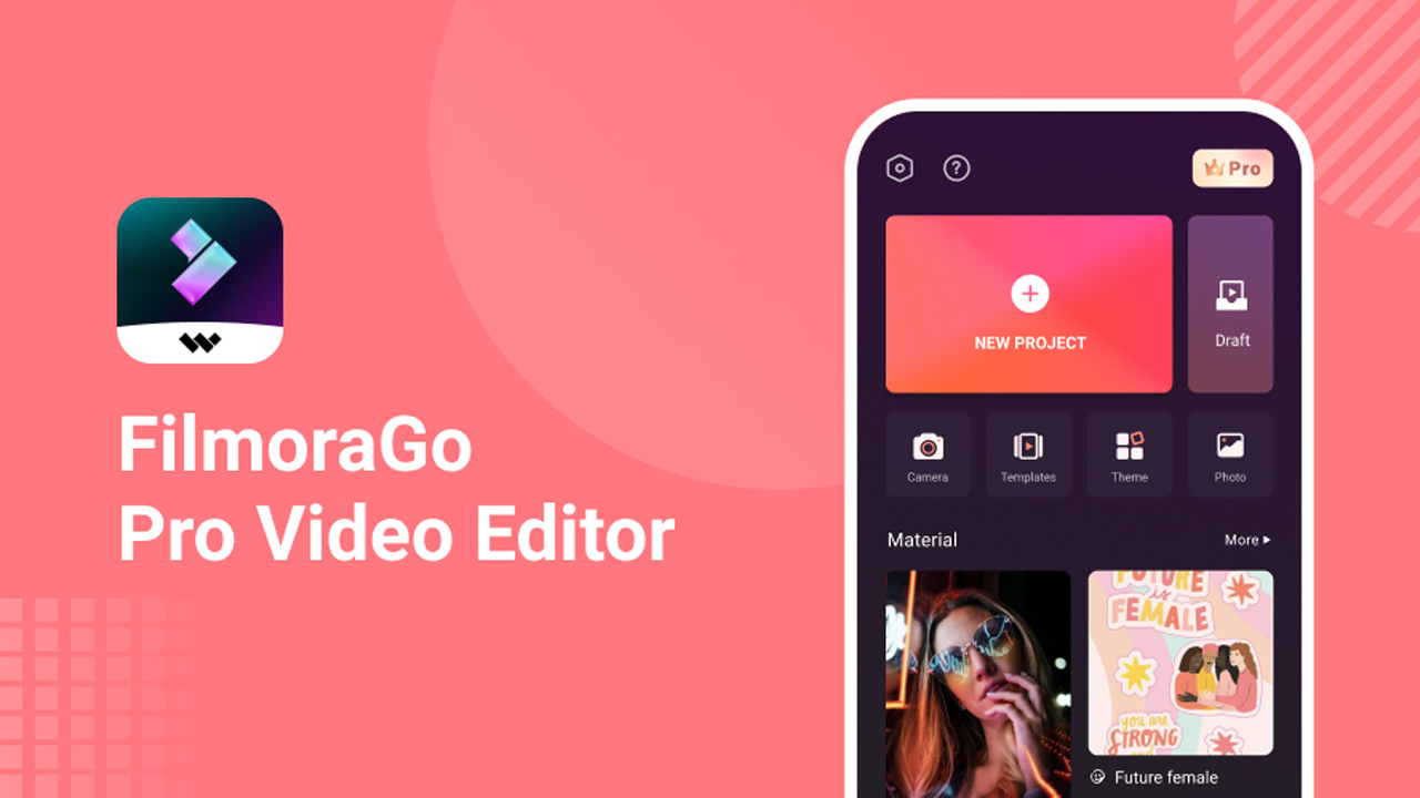 FilmoraGo Video editor poster