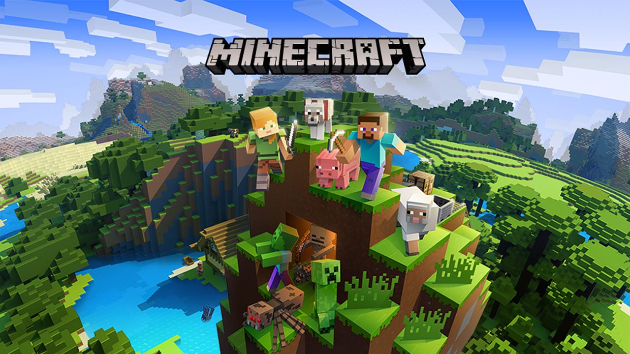 Minecraft poster