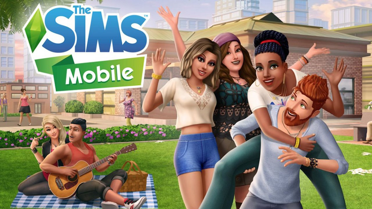 The Sims Mobile poster