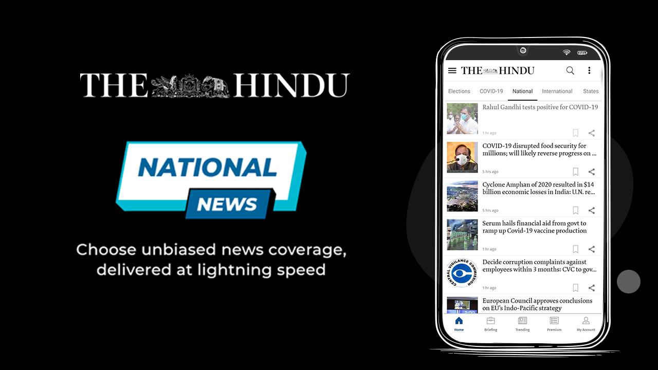The Hindu News banner